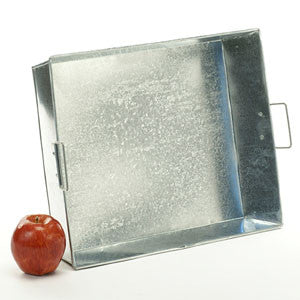 Large Galvanized Tray