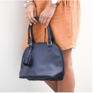 King Hand Bag - Light Gray