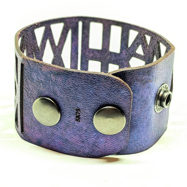 """I am William"" Leather Bracelet"