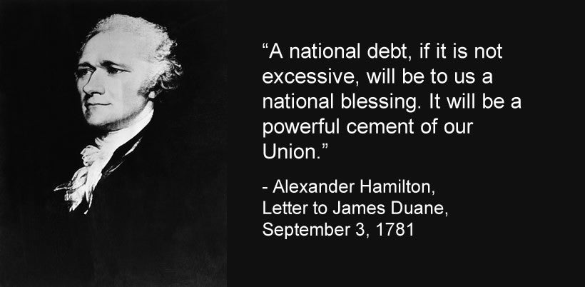A national debt, if it is not excessive...