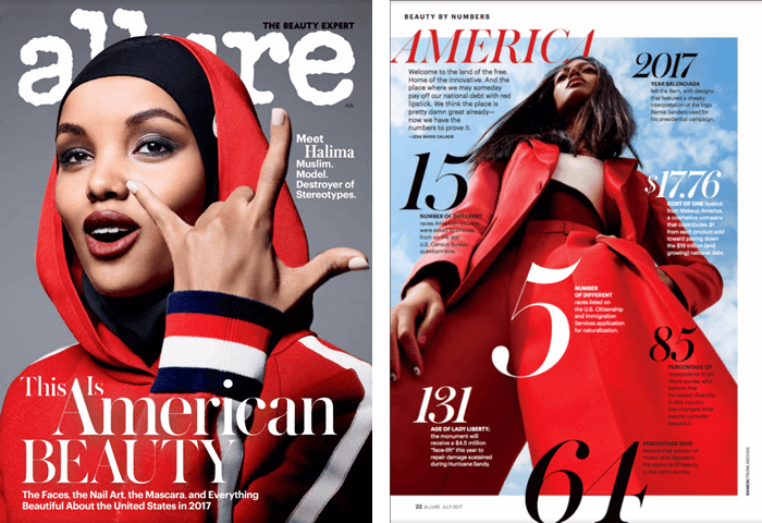 Allure Magazine Features Makeup America!