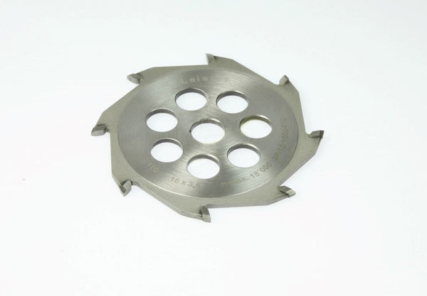 102.402 | Tungsten carbide tipped blade ø 4.3 x 0.16 inch, round profile | Grooving Accessories