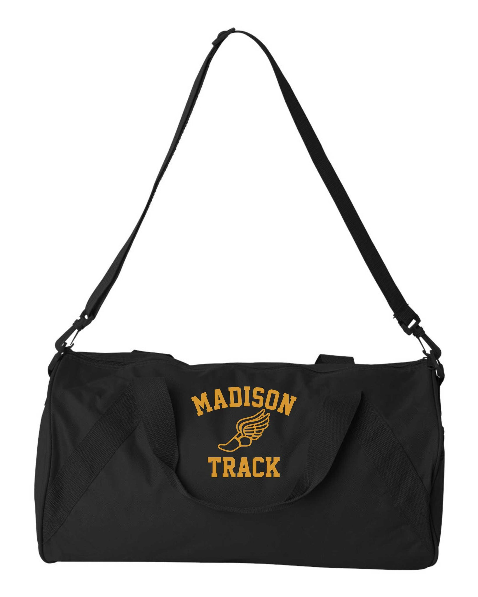 James Madison Black Duffle Bag