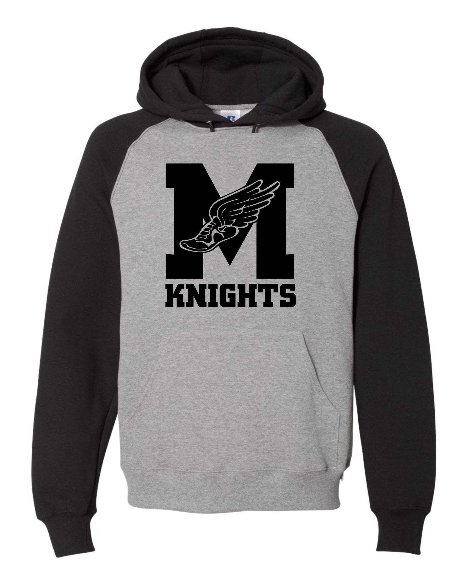 James Madison Russell Athletic Black Hoody