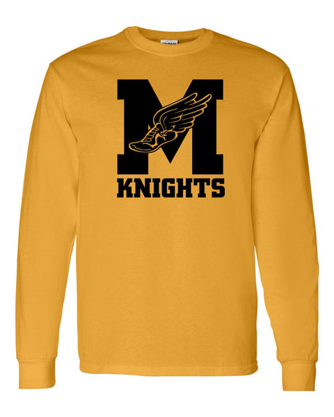 James Madison Yellow Mens Long Sleeve t-shirt.