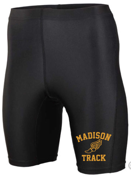 Mens James Madison Black Track Short