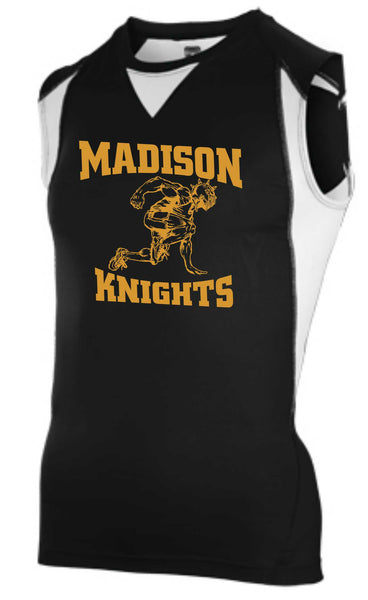 Mens James Madison Black Track Uniform