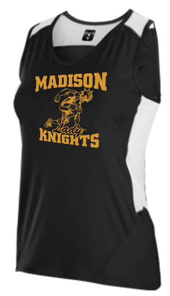 Womens James Madison Black Track Top