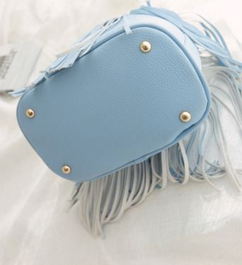 Ladies Fringes Tassel Shoulder Crossbody Handbag new