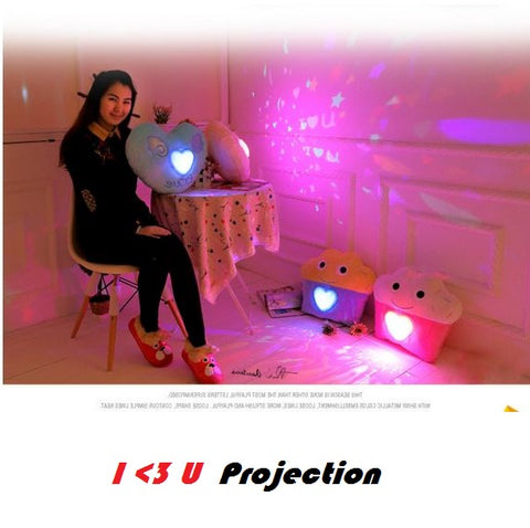 Buyvel LED Projection Cushions Ultra Soft, Ultra Light, High Quality