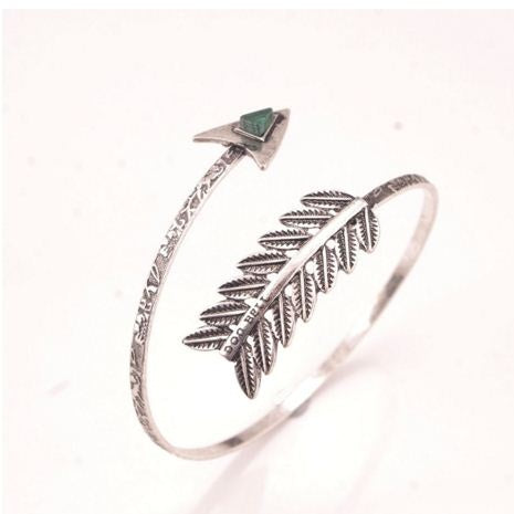 Antique Silver, Spiral Arrow Armlet