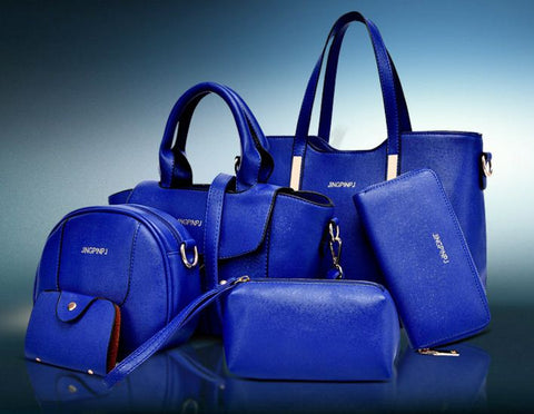 Ladies 6 Set Bags
