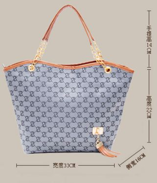 Big Spacious Handbag in G*venchy Print