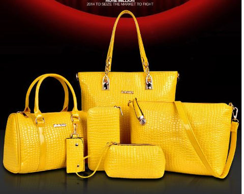 Elegent Stylish Trendy 6 Set Of Bag