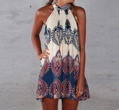 Bohemian Printed SLeeveless Top