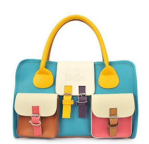 Colorful Trendy Handbag