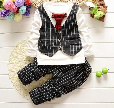 Buyvel's Lil Boys Very Comfortable Light Weighted High Quality Two Piece Suit