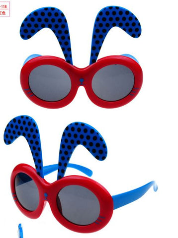 kids blue color sunglasses