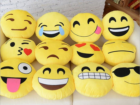 Cute Emoji/ Smileys For Rooms/ Cars with Vacuum Hangers