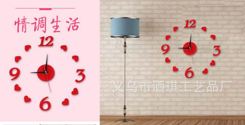 Acrylic 3D Love Wall Decor
