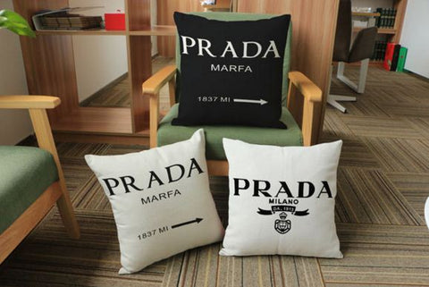 Highlighted Parada Milano Cotton Linen Cushion Covers 45cmX45cm