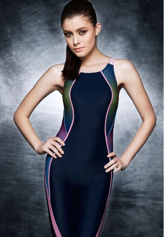 Spandex swimsuit Racer