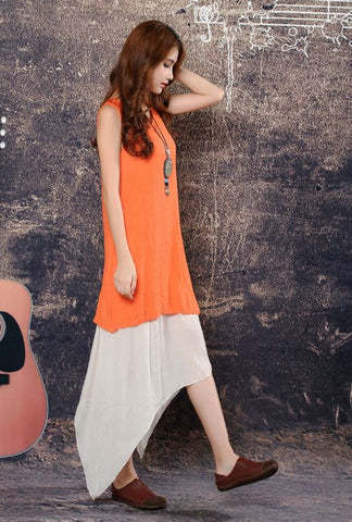 Buyvel 2 Peices Long Designer  Top