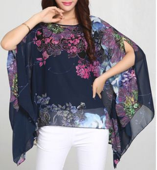 Flowering Pattern Multicolor Designer Kaftan