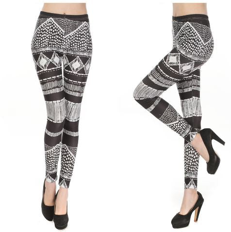 Buyvel Geometric Lines Leggings