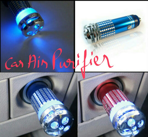 Buyvel Auto Car Air Ionizer Fresh Air Purifier