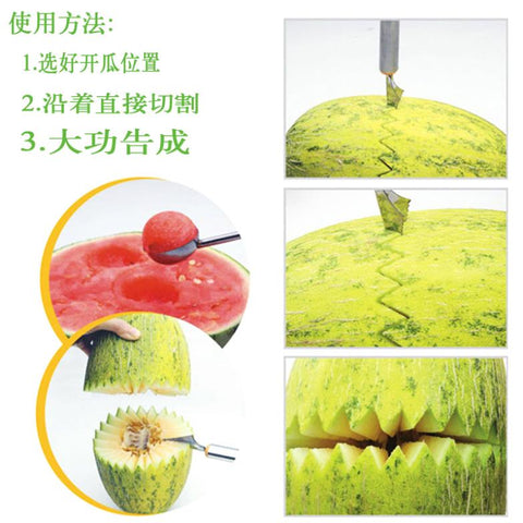 Buyvel Stainless Steel Friuts & Vegetable Carving Tools