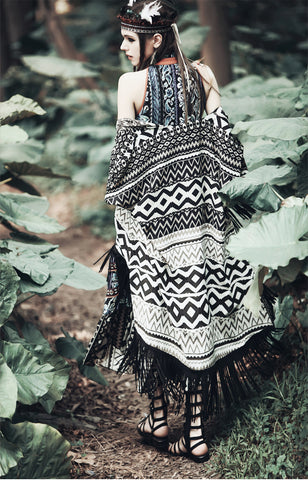 Tassel Fringed Shrugs
