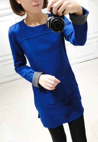 Buyvel Cool Colored Turn Up Sleeves