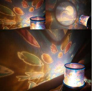 Two Light Modes Battery Operated Projector Lamps Home Decor- Available online on Buyvel
