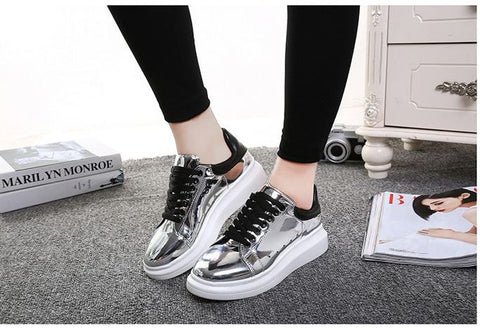 Waterproof PU Imported Flat Shoes - Buyvel