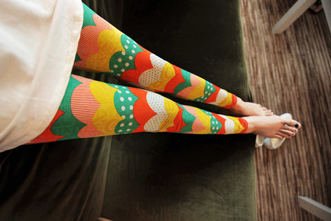 South Korean Imported High-Quality Breathable Leggings Leggings & Jeggings- Available online on Buyvel