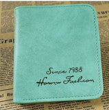 Unisex Small Squre Multicolor Trendy Wallet