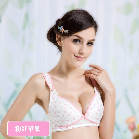 Front Open Cotton Breathable Nursing Bras Maternity Essentials- Available online on Buyvel