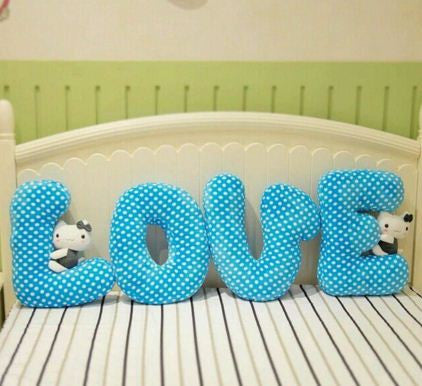 Teddy Soft Love Cushion Pillow, Valentine Gifts for Kids & Her