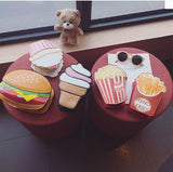 Cute Ice Cream Cake Hamburger Bags Creative Bags- Available online on Buyvel