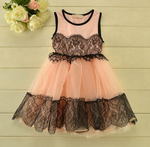 Net Skirt Crotie Style Dresses Girl's dresses- Available online on Buyvel