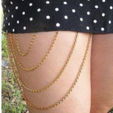 Chittiyan Kallayian Style Thigh Chain Body Jewelry- Available online on Buyvel