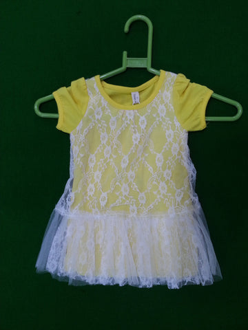 Yellow delight Dress Girl's dresses- Available online on Buyvel