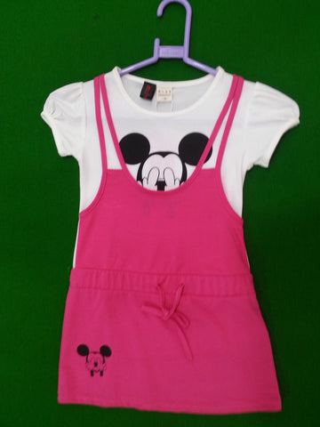 Mickey Dress Girl's dresses- Available online on Buyvel