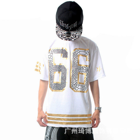 Hip Hop Styling 66 T shirt men's Tshirt- Buyvel