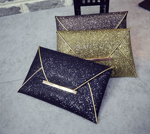 Glitter Party Clutches Wallets & Clutches- Available online on Buyvel
