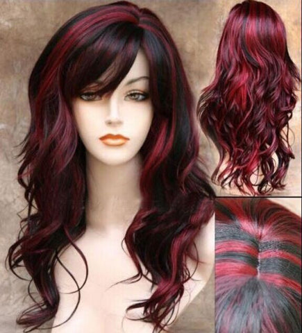 Curly hair wig European and American fashion wholesale - Buyvel