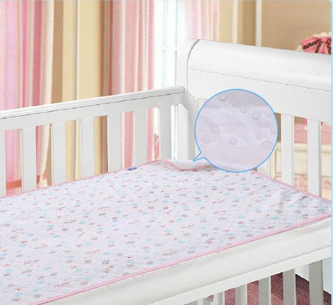 Ecological cotton waterproof changing mat Baby Essentials- Available online on Buyvel