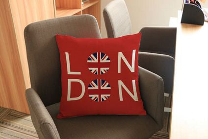 London Bright Color Cushion Cover Cushions & Covers- Available online on Buyvel