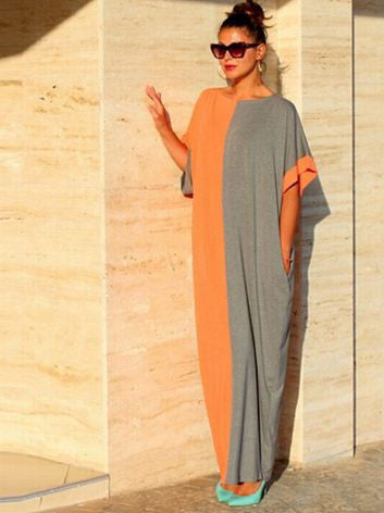 Adorable Long Loose Egyptian Gown - Buyvel